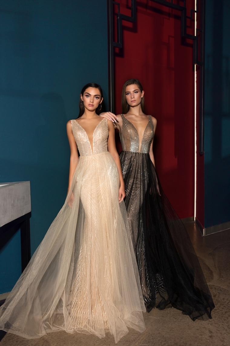 """Вечернее платье 18-202 """"Crystal Design"""" Цена 14000 грн. Скоро в наличии.Цвета gold, black"""