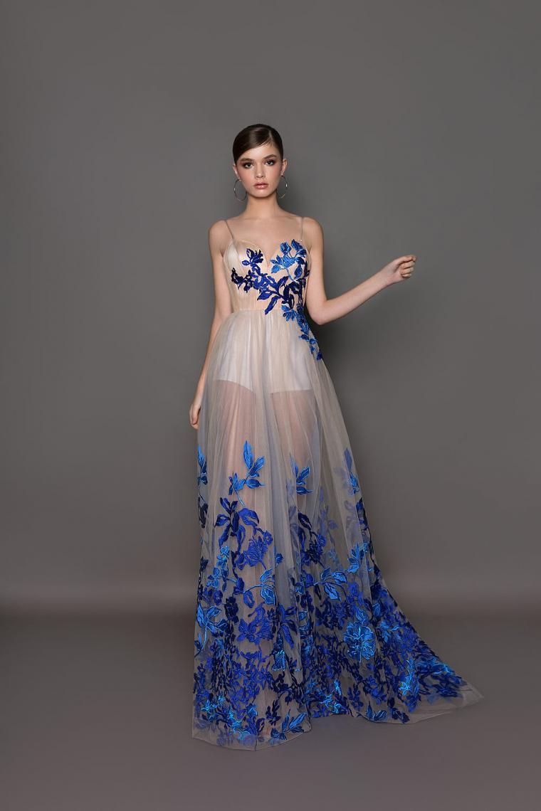 """Вечернее платье 19221 """"Crystal Design""""  ̶1̶3̶ ̶9̶0̶0̶ ̶г̶р̶н̶.̶ Стоимость 9 900 грн. В наличии"""