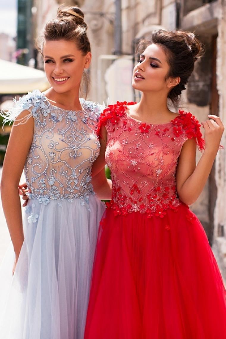 """Вечернее платье Barbie """"Pollardi"""" . Цена 13 500 грн. В наличии. Под заказ возможно в цветах red, ivory, light blue"""