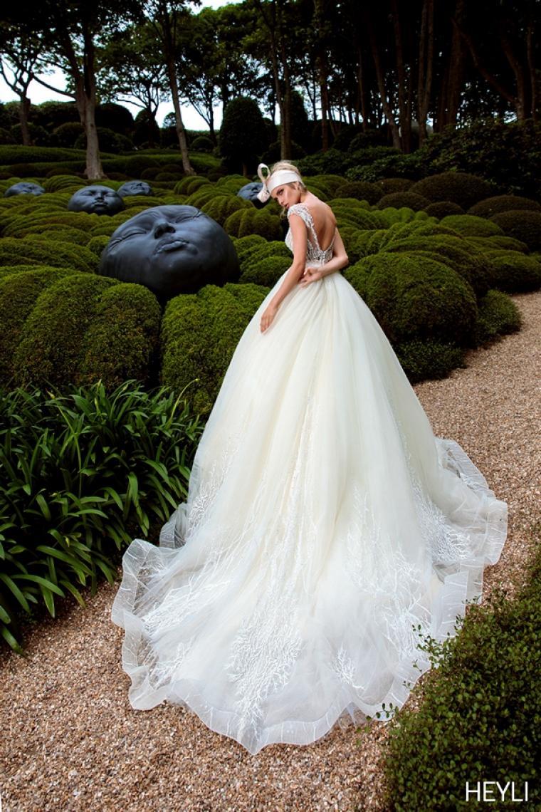 """Свадебное платье Heyli """"Allegresse"""" Цена 34 800 грн. Аренда от 15 000 грн. В наличии"""