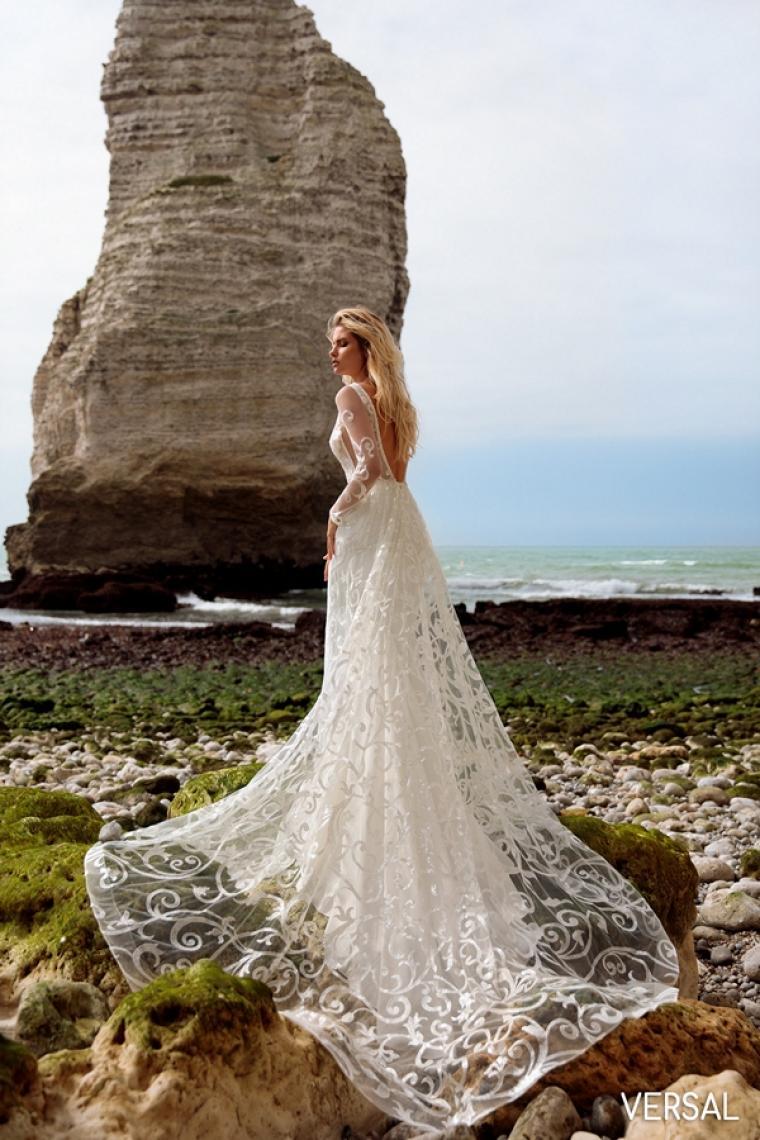 """Свадебное платье Versal """"Allegresse"""" SALE -20% Цена 24 700 грн. Аренда 12 350 грн. В  наличии"""