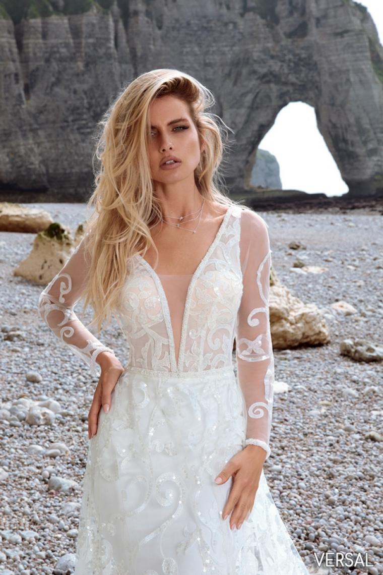 """Свадебное платье Versal """"Allegresse""""  ̶2̶8̶ ̶0̶0̶0̶ ̶г̶р̶и̶в̶е̶н̶.̶  22 000 гривен."""