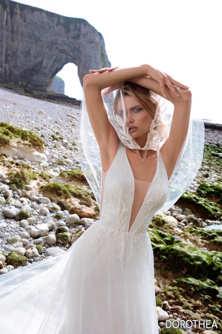 """Свадебное платье Dorothea """"Allegresse""""  ̶3̶3̶ ̶0̶0̶0̶ ̶г̶р̶и̶в̶е̶н̶.̶ 24 800 гривен."""