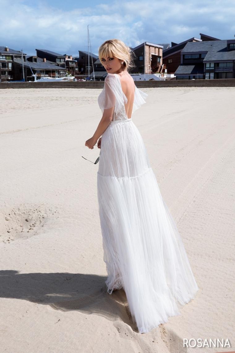 """Свадебное платье Rosanna """"Allegresse""""SALE -20% Цена 13 500 грн. Аренда 6 750 грн. В наличии"""