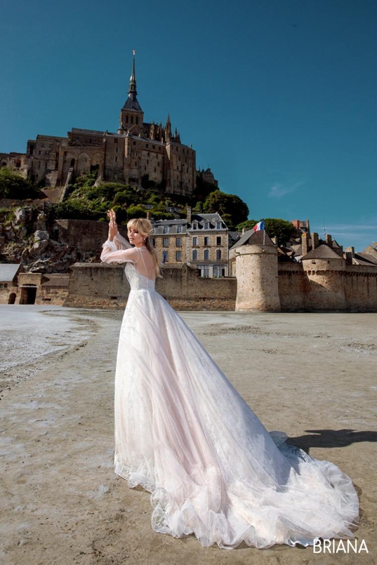 """Свадебное платье Briana """"Allegresse""""  ̶3̶5̶ ̶0̶0̶0̶ ̶г̶р̶н̶ Стоимость 24 000 грн. В наличии"""