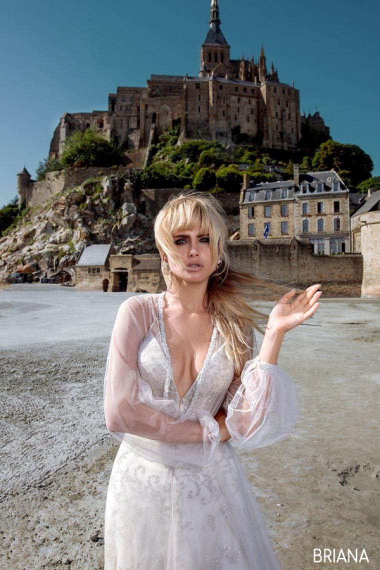 "Свадебное платье Briana ""Allegresse"" SALE -20% Цена 31 600 грн. Аренда 15 800 грн.В наличии"