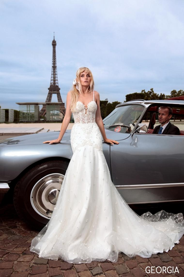 """Свадебное платье Georgia """"Allegresse"""" Стоимость 32 800 грн. Аренда 16 400 гривен.  Стоимость платья с накидкой."""