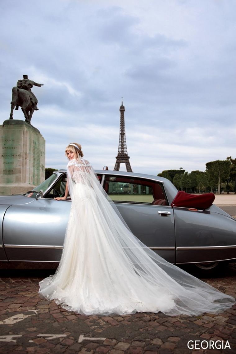 """Свадебное платье Georgia """"Allegresse"""" Цена 36 700 грн. Аренда от 16 000 грн.  Стоимость платья с накидкой. В  наличии"""