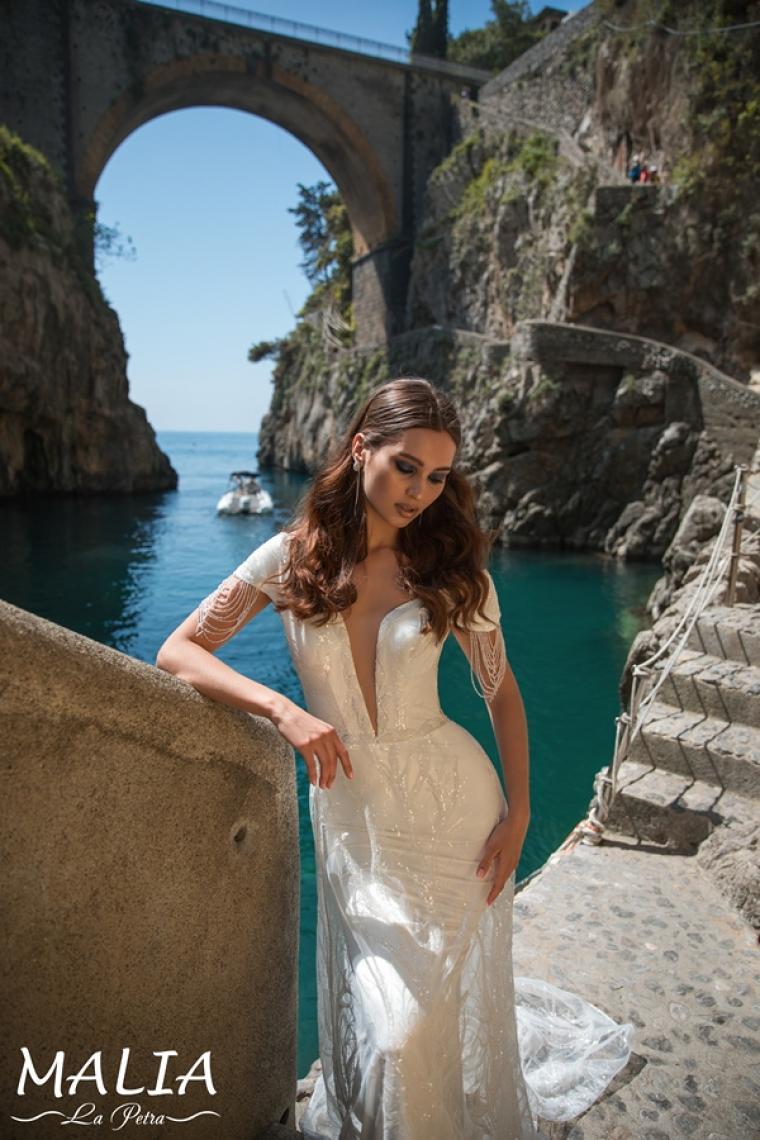 """Malia """"La Petra""""  ̶2̶6̶ ̶2̶0̶0̶ ̶г̶р̶н̶.̶ Стоимость 20 800 грн. Аренда 10 400 грн. Свадебное платье  в наличии"""